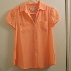 Orange LOFT Blouse